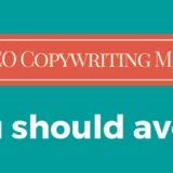 Top 3 SEO Copywriting Mistakes You Should Avoid
