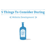 5 Things To Consider During Your Website Development
