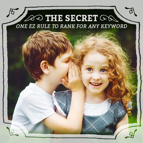 boy whispering secret into girls ear