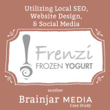 A Page From Our Portfolio: Frenzi Frozen Yogurt