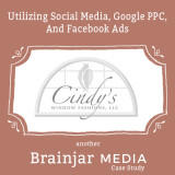 A Page From Our Portfolio: Cindy's Window Fashions (Social Media and Google PPC)