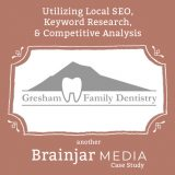 A Page From Our Portfolio: Gresham Family Dentistry